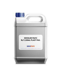 WATERBASED LUBRICANT SOCOLUB V0692 5L/1,32GAL PLAST PAIL